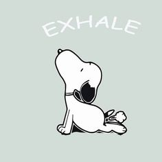 Exhale Snoopy Yoga Funny tshirt - Health Lifestyle Mediation Om Pants Quote Wear Yogasnoopyfitness C Meu Amigo Charlie Brown, Charlie Brown And Snoopy, Snoopy Images, Snoopy Pictures, Snoopy Wallpaper, Tank Design, Emotion, Snoopy And Woodstock, Yoga Quotes