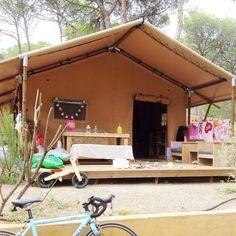 Spanje / Costa Brava // Camping Neus in Léscala // Cindy - @mydailygarbage // 11-08-2014