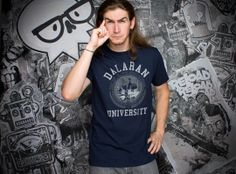 J!NX : World of Warcraft Dalaran University Premium Tee - Clothing Inspired by Video Games & Geek Culture