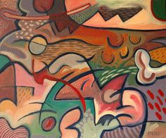 Abstract: The Whole Mad World | Trevor Pye