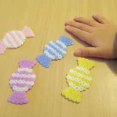 Candies perler beads by nanacoroby