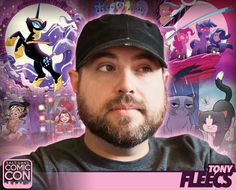 *PIN to WIN* Meet artist Tony Fleecs at #SLCC16! Known for My Little Pony + Image Comics, IDW Publishing, BOOM! Studios and more! #utah
