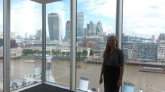 Summer in the city for @geographylives student Alice Beazer working at @EY_CareersUK #iconiclondon #TakeUSwithyou