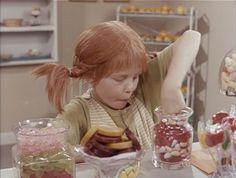 The candy shop scene in Pippi Longstocking (Pippi Långstrump) <3