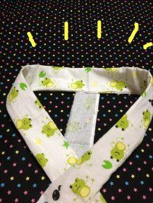 てぬぐい一枚でつくる簡単美容衿!並縫いができれば誰でも作れます。 | 杏'sキモノブログ