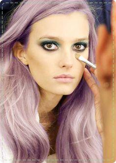 #Purple #pastel #hair
