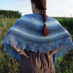 Lovely shades of blue in this cotton shawl. Perfect to wear to a summer dress, but also to make jeans more festive. Now celebrating my Etsy anniversary with a SALE  Lots of items are unique and ready to ship, so grab while they're here.