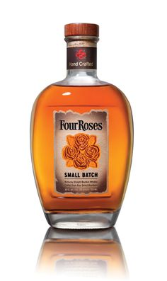 Four Roses Small Batch Bourbon is spicy and rich on the nose, with hints of sweet oak and caramel. It's creamy and mellow on the palate with notes of ripened red berries – rich, spicy, well-balanced and moderately sweet with a soft, smooth finish. – Distiller's notes