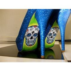 I would kill myself in these. I just want to hang them on my wall like the beautiful art that they are!