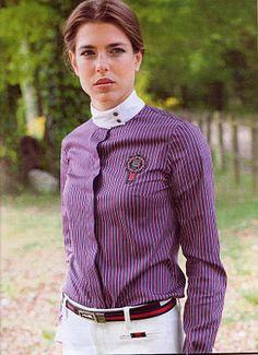 Equestrian Charlotte Casiraghi