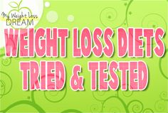 weight loss tried and tested