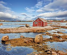 Fishing Store on Fogo Island