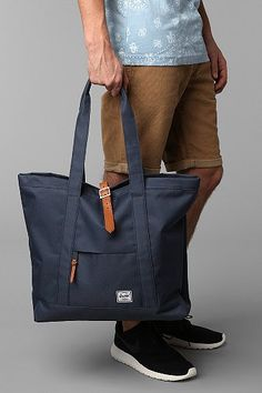 Herschel Supply Co. Oversized Market Tote Bag from Urban Outfitters. Saved to accessories. Rucksack Bag, Backpack Bags, Briefcase, Mens Tote Bag, Men's Totes, Satchel, Crossbody Bag, Types Of Bag, Herschel Supply Co