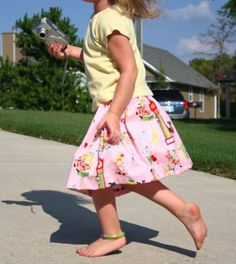 Easy skirt to sew