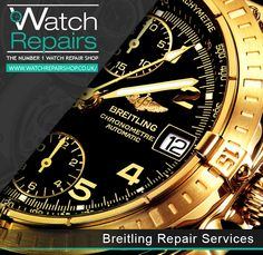 Breitling Watch Repair Services in London and all the UK http://www.watchrepairshop.co.uk ‪#‎WatchRepair‬ ‪#‎BreitlingWatch‬
