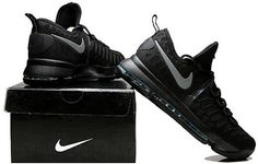 pretty nice 62034 20f91 Nike Zoom KD 9 Lmtd EP Mens Basketball shoes Black and silver Shoes Uk, Nike