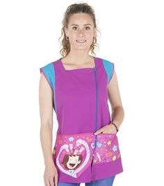"Bata de maestra ""Memoria"" 6512 Baby Boom, First Class, After School, Leo, Jumper, Sewing, Blouse, Clothes, Aprons"