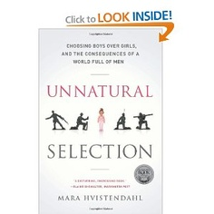 This is a riveting account of how people across the world are using ultrasound and other pre-natal technologies to give birth to far more male babies than female.