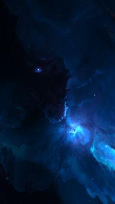 Atlantis Labyrinth Nebula iPhone 8 Wallpapers