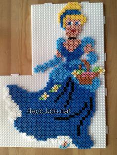 Cinderella Disney hama perler by DECO.KDO.NAT