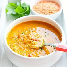 Soup with lentils and tomatoes - Fit Best Soup Recipes, Vegetarian Recipes, Cooking Recipes, Healthy Recipes, Good Food, Yummy Food, Food Inspiration, Food Porn, Food And Drink