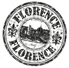 Illustration about Black grunge rubber stamp with the name of Florence city the capital of the Italian region of Tuscany and of the province of Florence in Italy. Illustration of antique, dome, firenze - 25805051 Vintage Design, Vintage Images, Postage Stamp Design, Travel Stamp, Passport Stamps, Vacation Planner, Aesthetic Stickers, Logo Sticker, Tampons
