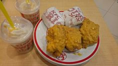 Hot & Cheesy fried chicken