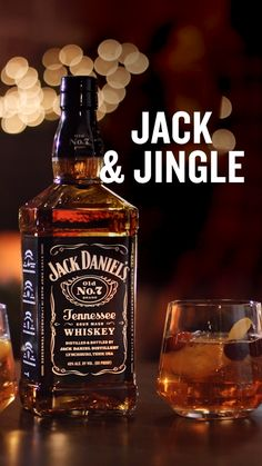JACK & JINGLE Enjoy a drink that's more fun that a one-horse open sleigh. Combine 1 oz of Jack Daniel's®, 5 oz of Winter Spiced Cranberry Sprite®, oz of Aperol®, and a splash of cranberry juice. Then, enjoy… Mixed Drinks Alcohol, Party Drinks Alcohol, Alcohol Drink Recipes, Bar Drinks, Yummy Drinks, Cocktail Drinks, Bourbon Drinks, Christmas Drinks, Holiday Cocktails