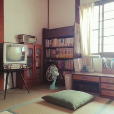 naka77さんの、部屋全体,和室,昭和レトロ,日本家屋,のお部屋写真 Room Interior, Interior And Exterior, Interior Design, Bg Design, House Design, My New Room, My Room, Japanese Apartment, Retro Room