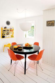 Furniture design in a summer house