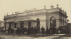 Completion of Notting Hill Gate station 1866.  Historic images of the London Underground released for the first time | London - ITV News