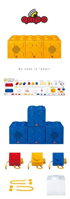 "LEGO ""qmpo""|Art Direction|CLIENT: LEGO, Vacuum Records"