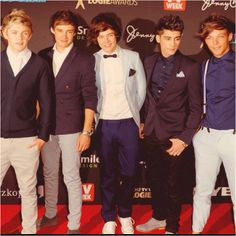 One Direction looking cute