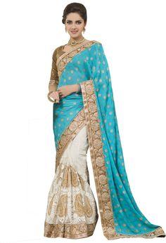 #Fashion #Sari #Net #Multicolor #saree
