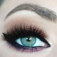 dramatic fall look  – Makeup Geek -beaches and cream, latte, blitz, enchanted, new year's eve Gel liner- immortal