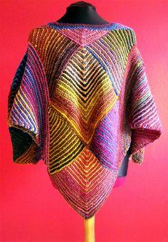 Ravelry: Miteriffic Poncho pattern by Melody Johnson