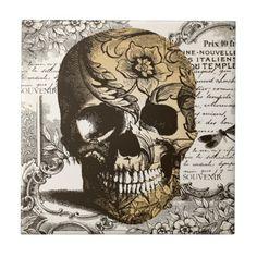 Tatoo Skull on floral background Skull Memento Mori, Halloween Skull, Vintage Halloween, Tattoo Crane, Sugar Skull Shower Curtain, Skulls And Roses, Halloween Backgrounds, Skull Tattoos, Skull Art