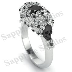 Dream engagement ring, but with regular diamonds.. I would die.