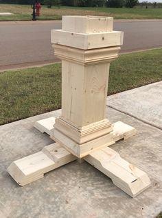 DIY - Shanty 2 Chic - Pedestal Dining Table