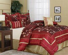 Nanshing Paddington 7-Piece Embroidered Comforter Set, California King Nanshing http://www.amazon.com/dp/B006EI0DU4/ref=cm_sw_r_pi_dp_QqwUvb1KFA0VW