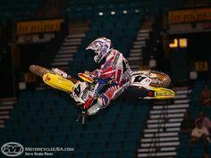 2006 US Open Ricky Carmichael by Tony Blazier Mx Racing, Dirt Bike Racing, Cool Dirt Bikes, Mx Bikes, Ricky Carmichael, Monster Energy Supercross, Off Road Bikes, Street Racing, Dirtbikes