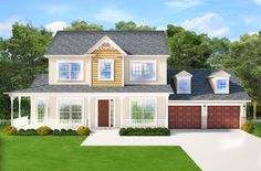 Exciting Victorian House Plan in Three Versions - 82214KA | 1st Floor Master Suite, Butler Walk-in Pantry, CAD Available, Country, Den-Office-Library-Study, Jack & Jill Bath, PDF, Victorian, Wrap Around Porch | Architectural Designs