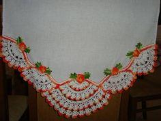 bico de croche com flores com graficos - Pesquisa Google