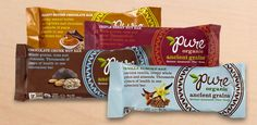 Pure Bars - these are raw, organic, vegan and non-gmo! super yummy! they're at Costco too! #MyVeganJournal