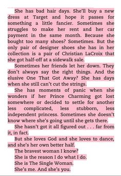 """Excerpt from Mandy Hale's """"The Single Woman"""". It's a must read."""