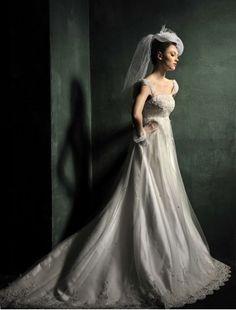 Fashion Bridal Gowns, Glamorous Wedding Dresses – RainingBlossoms
