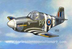 Mustang Mk III Eugenius Horbaczewski, 315 Sqn. RAF, Coolham, Sussex, 1944