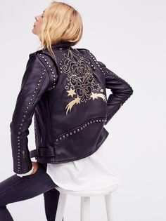 Gold Rush Biker Jacket. FP