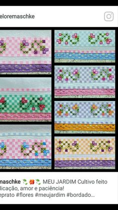 Stepped Running Stitch In Hand Embroidery (Step By Step & Video) Embroidery Stitches, Embroidery Patterns, Hand Embroidery, Bordado Tipo Chicken Scratch, Chicken Scratch Embroidery, Quilted Potholders, Mini Album Tutorial, Girl Scout Crafts, Leather Carving