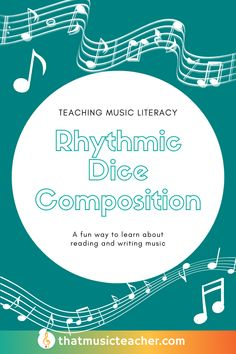 This is a fun dice game to teach your class about rhythm, composition, and literacy.   #ElementaryMusic #MusicComposition #MusicLiteracy #RhythmGame #MusicGame #MusicActivity #MusicClass Music Teachers, Teaching Music, Music Education, Elementary Music Lessons, Elementary Education, General Music Classroom, Music Lesson Plans, Composition, Class Activities